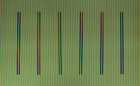 Lithographie Cruz-Diez - Couleur à l'Espace Olot