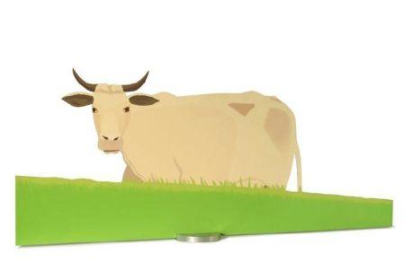 Sérigraphie Katz - Cow