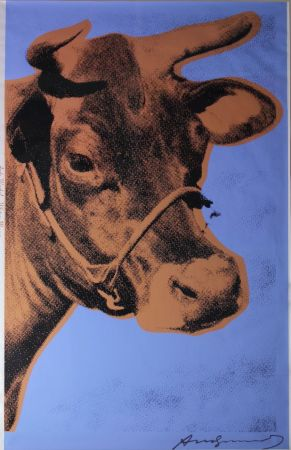 Sérigraphie Warhol - Cow (FS II.11A)