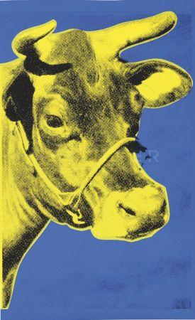 Sérigraphie Warhol - Cow (Fs Ii.12)