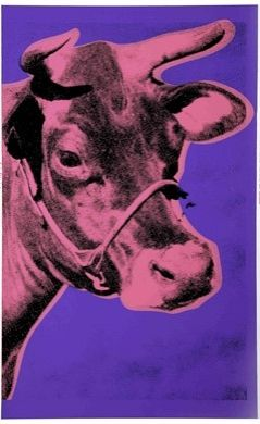 Sérigraphie Warhol - Cow II