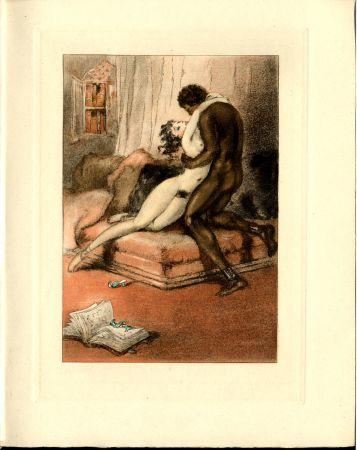 Livre Illustré Icart - CRÉBILLON, Fils : LE SOPHA.23 eaux-fortes originales en couleurs de Louis Icart.