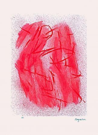 Lithographie Bazaine - Crépitement