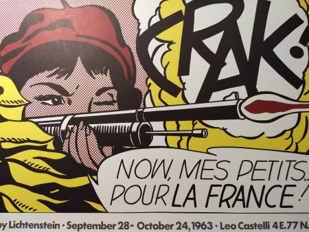 Affiche Lichtenstein - Crak