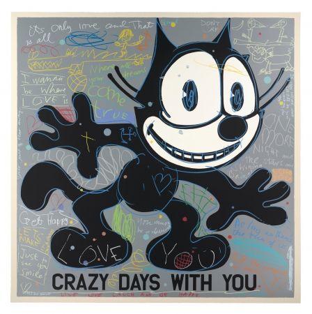 Sérigraphie Spiller - Crazy days with you