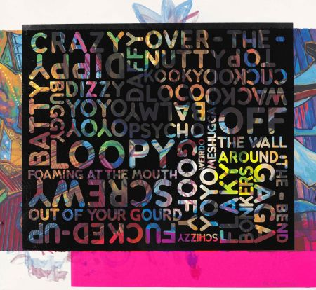 Sérigraphie Bochner - Crazy (With Background Noise)