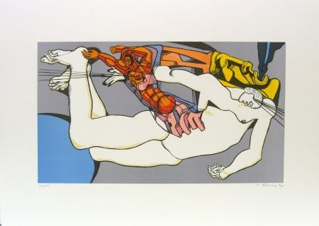 Lithographie Neizvestny - Creation of Eve