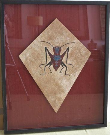 Sérigraphie Toledo - Cricket kite I