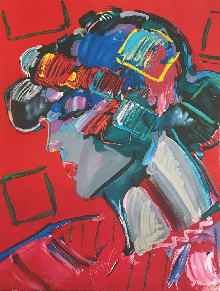 Lithographie Max - CRIMSON LADY