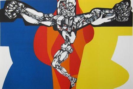 Lithographie Neizvestny - Crucifix