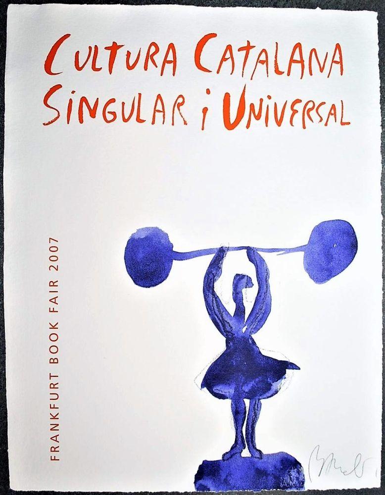 Lithographie Barcelo - Cultura catalana