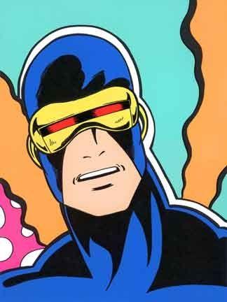 Sérigraphie Matos - Cyclops