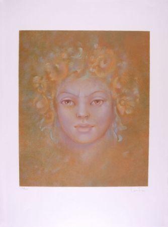 Lithographie Fini - Cynthia