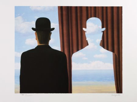 Lithographie Magritte - Décalcomanie (Decalcomania)