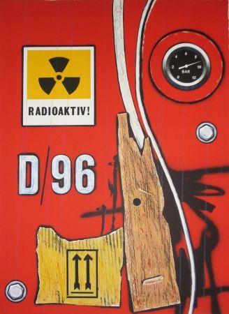 Lithographie Klasen - D 96