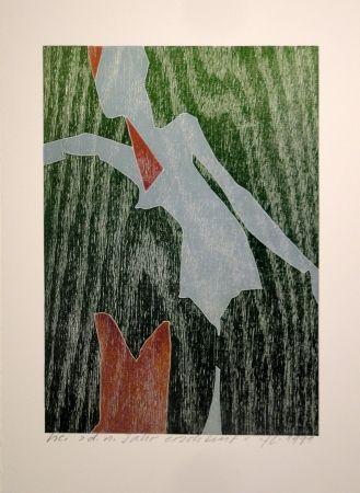Gravure Sur Bois Eggenschwiler - D. n. Jahr erscheint