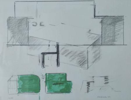 Lithographie Aguilar - Da