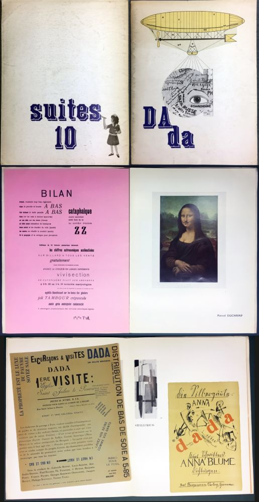 Livre Illustré Duchamp - DAda. Suites 10. Catalogue de la Galerie Krugier (1966)
