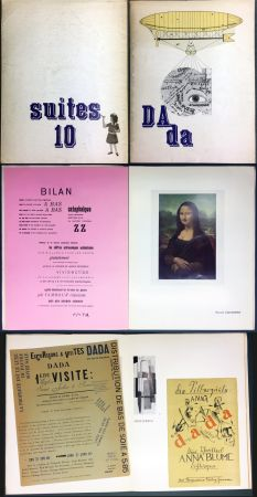 Livre Illustré Duchamp - DAda. Suites 10. Catalogue de la Galerie Krugier (1966)