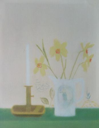 Sérigraphie Aitchison - Daffodils & Candlestick