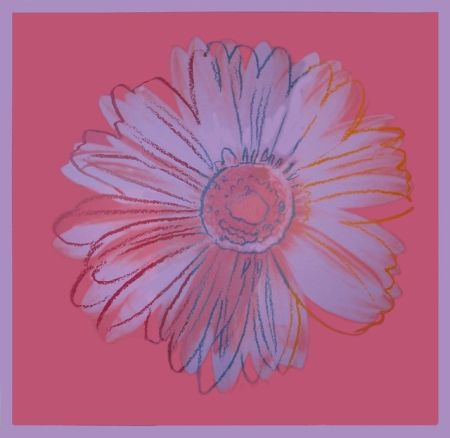 Sérigraphie Warhol - Daisy, ca