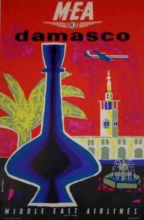 Lithographie Auriac - Damasco  MEA