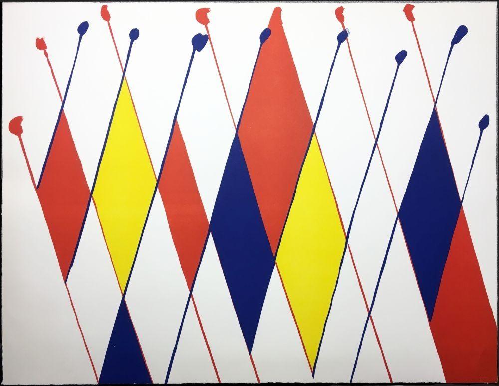 Lithographie Calder -
