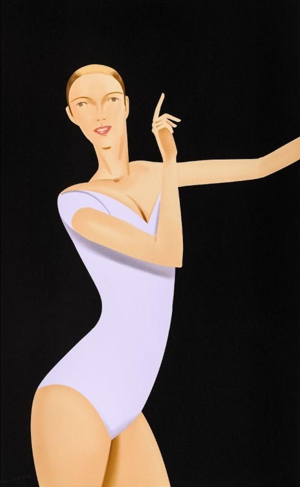 Sérigraphie Katz - Dancer 1