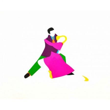Sérigraphie Lodola - Dancers
