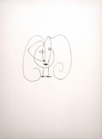 Lithographie Picasso - Dans l'atelier de Picasso