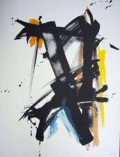 Lithographie Miotte - Danse espiegle