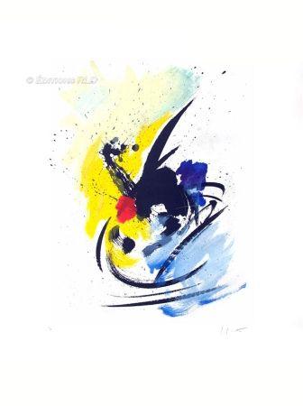 Aquatinte Miotte - Danse insolite