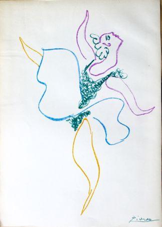 Lithographie Picasso -  Danseuse