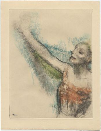 Eau-Forte Et Aquatinte Degas - Danseuse (étude, vers 1878-1880)