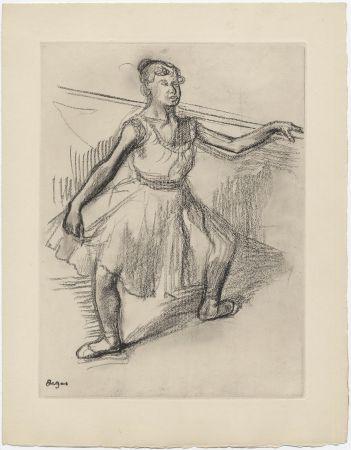 Eau-Forte Degas - Danseuse (étude, vers 1878)