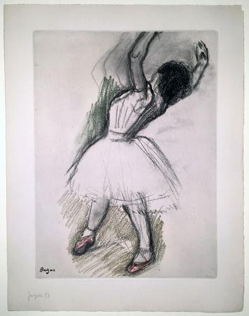 Eau-Forte Et Aquatinte Degas - Danseuse (étude, vers 1880)