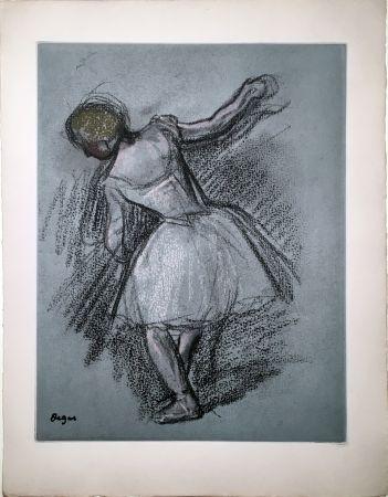 Eau-Forte Et Aquatinte Degas - Danseuse (étude, vers 1890)