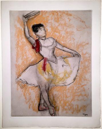 Eau-Forte Et Aquatinte Degas - Danseuse au tambourin (1882)