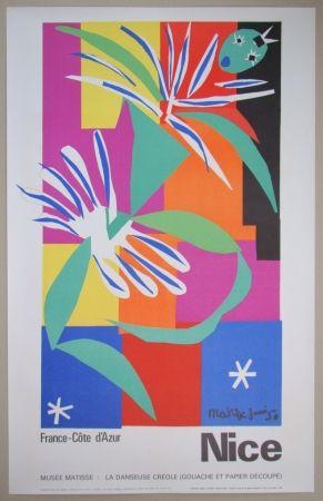 Lithographie Matisse - Danseuse créole, 1950