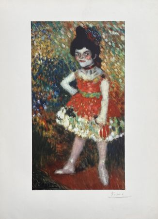 Lithographie Picasso - Danseuse naine (Barcelona Suite)