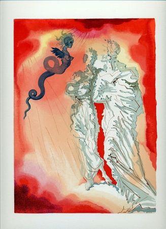 Livre Illustré Dali - Dante : LA DIVINE COMÉDIE. 6 volumes. 100 planches couleurs. (1959)