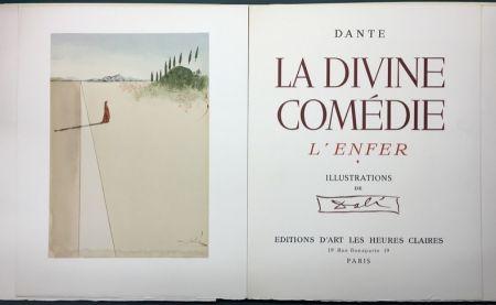 Livre Illustré Dali - Dante.  LA DIVINE COMÉDIE. L'Enfer. Le Purgatoire. Le Paradis.