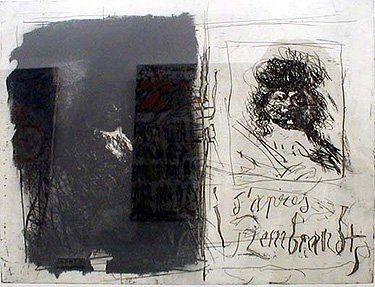 Eau-Forte Et Aquatinte Clavé - D'apres Rembrandt I-I