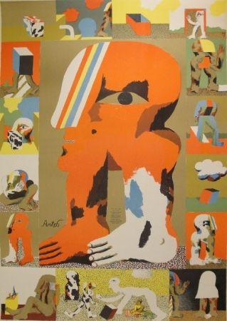 Lithographie Antes - Das graphische Werk 1959 bis 1967