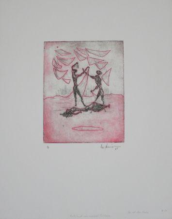 Gravure Zimmermann - Das ist das Ende / This Is the End
