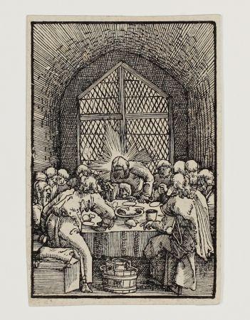 Gravure Sur Bois Altdorfer - Das letzte Abendmahl (The last Supper)