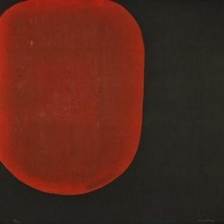 Eau-Forte Et Aquatinte Su - Daughter's red