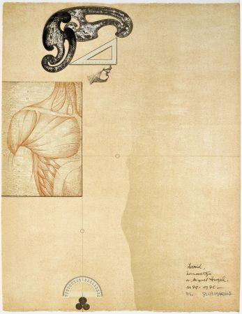 Lithographie Subirachs - David