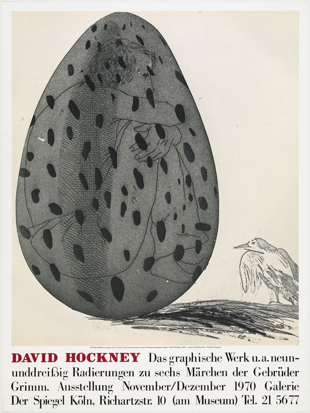 Aucune Technique Hockney - David Hockney Galerie Der Spiegel, Cologne