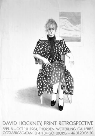 Aucune Technique Hockney - David Hockney, Print Retrospective